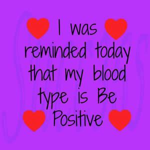 cuore positivo
