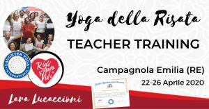 CAMPAGNOLA EMILIA – Corso di Certificazione internazionale a Teacher di Yoga della Risata – dal 12 al 16 agosto 2020 @ Tenuta Santo Stefano | Bagno di Romagna | Italia