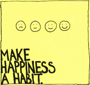 abitudine alla felicità