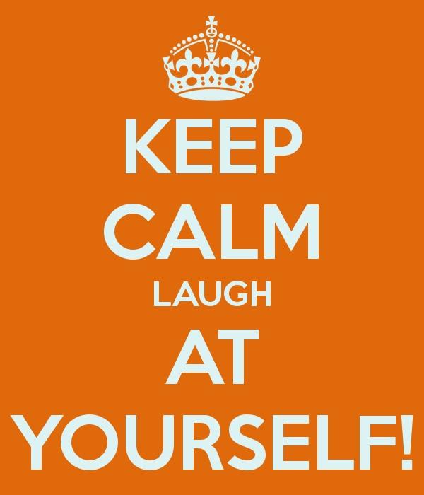 Come posso ridere di più? 9 consigli per portare più risate nella tua vita – 3 – Ridi di te stesso