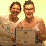 Leader di Yoga della Risata – Testimonianze – Michela Rivera