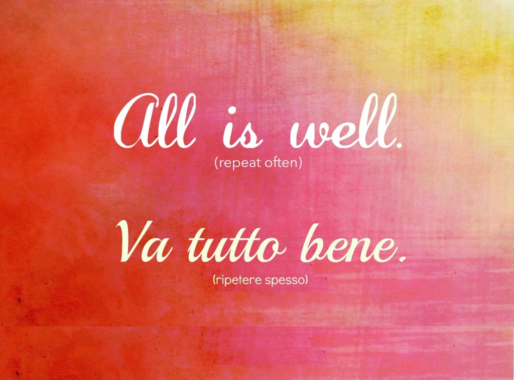 All_Is_Well - Va tutto bene