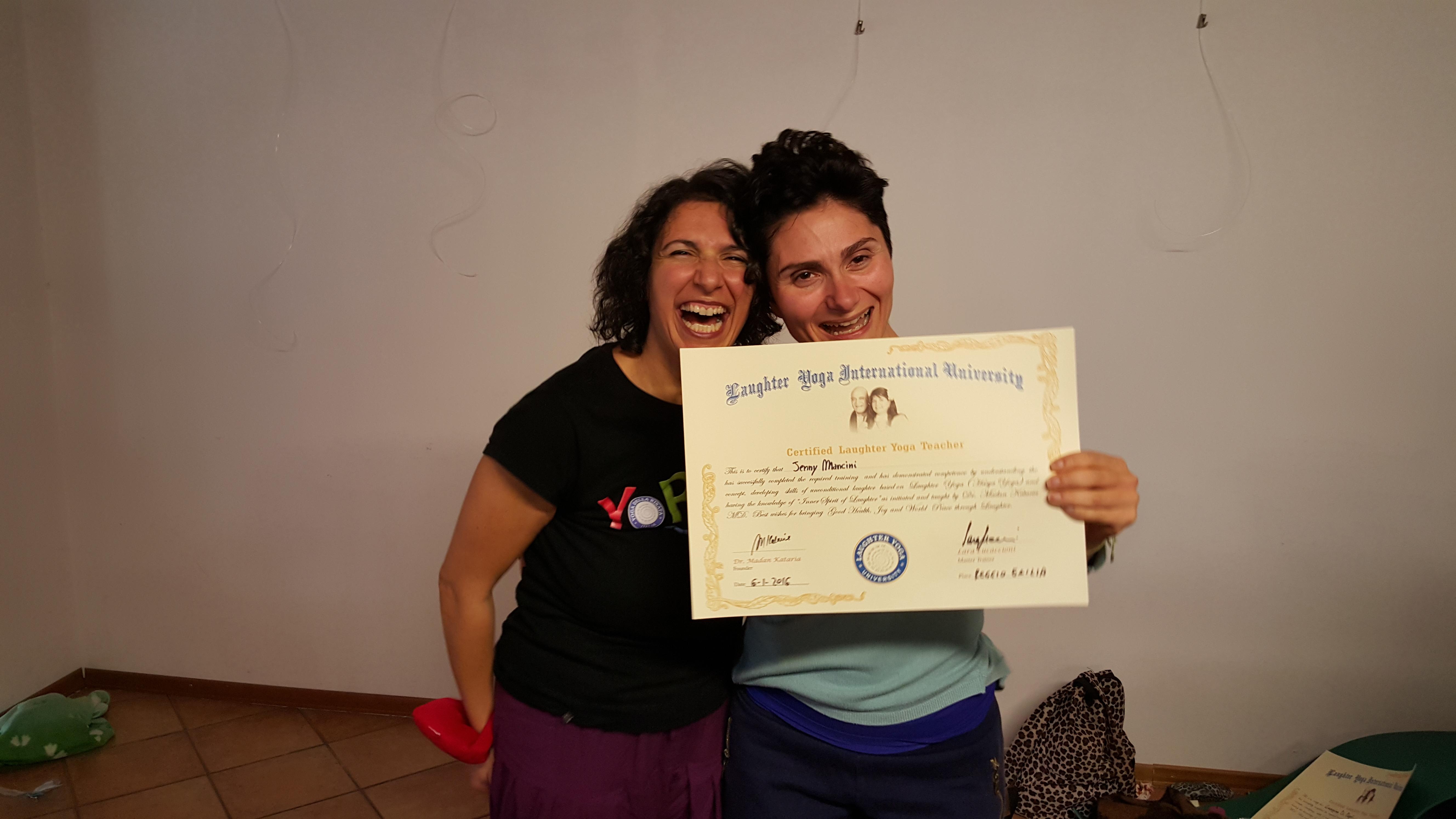 Jenny Mancini e Lara Lucaccioni