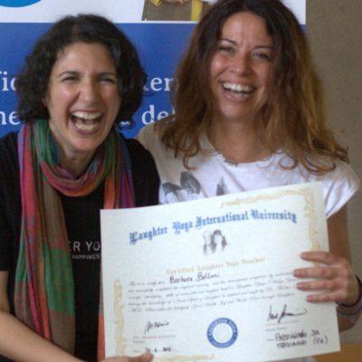 Yoga della Risata Teacher Training – Testimonianze – Barbara Bellucci