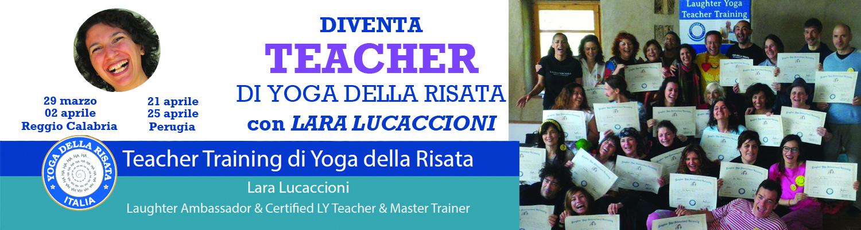 Teacher di Yoga della Risata con Lara Lucaccioni