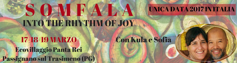 Somfala - Workshop sciamanico di danza, ritmo, voce con Kula e Sofia