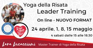 Corso di Certificazione internazionale a Leader di Yoga della Risata – 24 aprile, 1-8-15 maggio @ Zoom | Roma | Lazio | Italia
