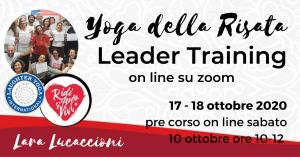 Corso di Certificazione internazionale a Leader di Yoga della Risata – 17 e 18 ottobre 2020 @ Zoom | Roma | Lazio | Italia