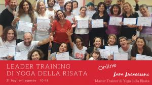 Corso di Certificazione internazionale a Leader di Yoga della Risata – 31 luglio - 1 agosto @ Zoom | Roma | Lazio | Italia