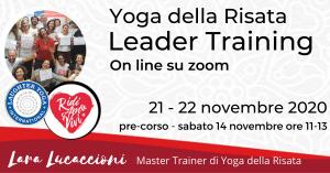 Corso di Certificazione internazionale a Leader di Yoga della Risata – 21-22 novembre 2020 @ Zoom | Roma | Lazio | Italia