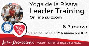 Corso di Certificazione internazionale a Leader di Yoga della Risata – 6-7 marzo @ Zoom | Roma | Lazio | Italia