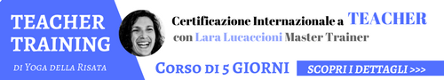 Teacher Training Yoga della Risata Lara Lucaccioni