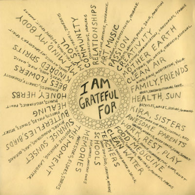 La lista della gratitudine
