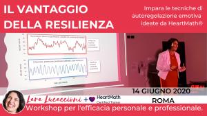 ROMA - Il vantaggio della resilienza - Workshop di coerenza cardiaca @ Esquilino Business Center