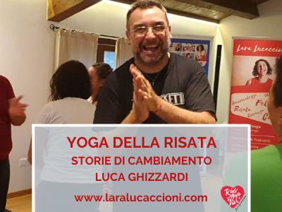 Gianluca Ghizzardi e il suo Teacher Training di Yoga della Risata