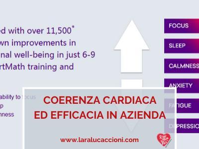 Coerenza cardiaca ed efficacia in azienda delle tecniche ideate da HeartMath