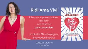 Lunedì 8 giugno Online alle 18.30 in diretta fb sulla pagina della Libreria Mondadori di Imperia @ on line