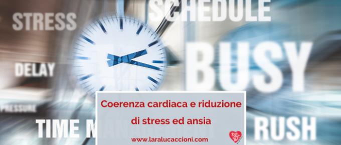 coerenza cardiaca ansia stress